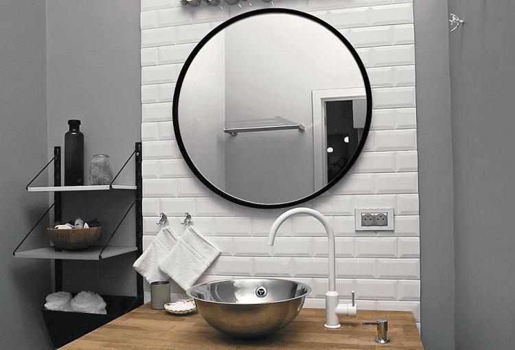 Bathroom Black Mirror