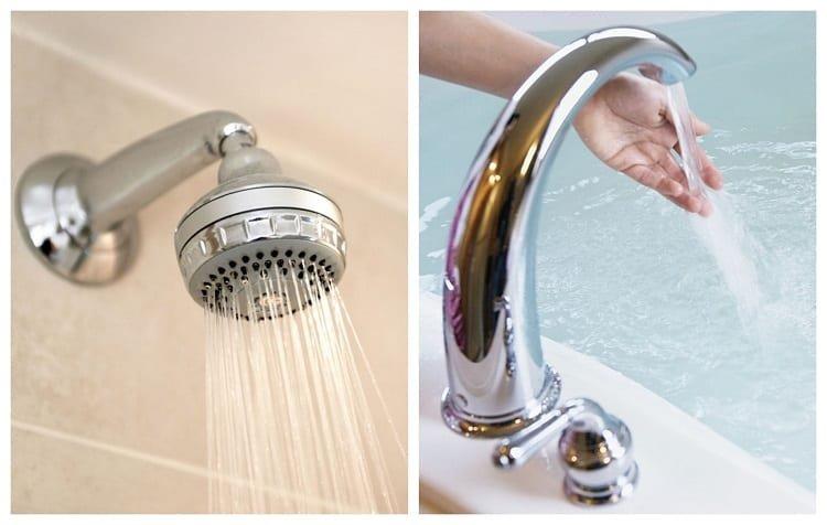 Shower vs Tub Waterflow