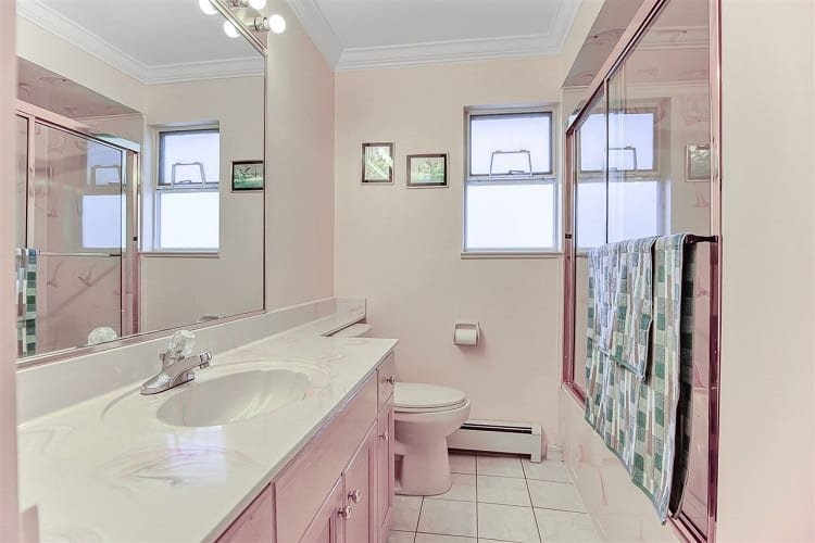 One Bathroom in The House