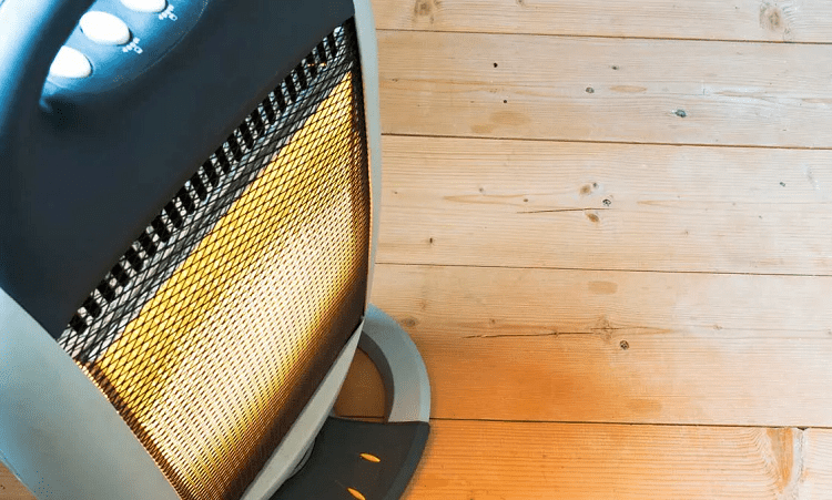 Using Space Heater