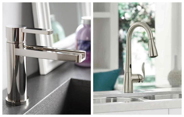 Two Different Faucets