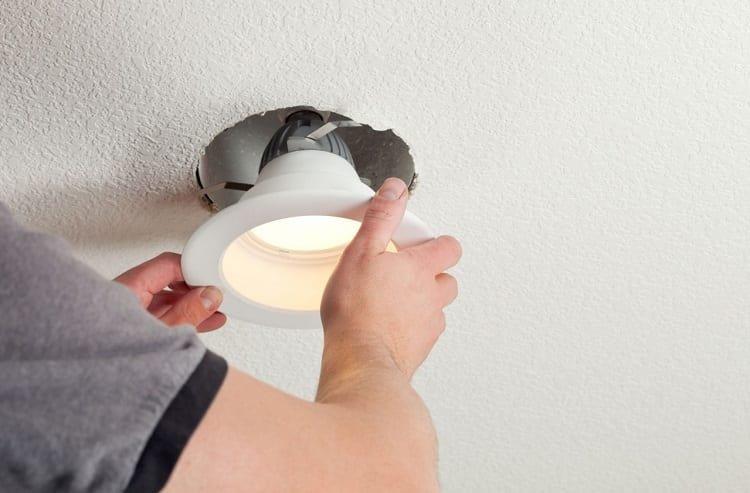 Installing Bathroom Light