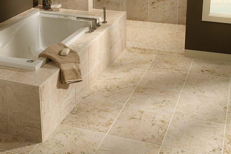 Bathroom Natural Stone Flooring