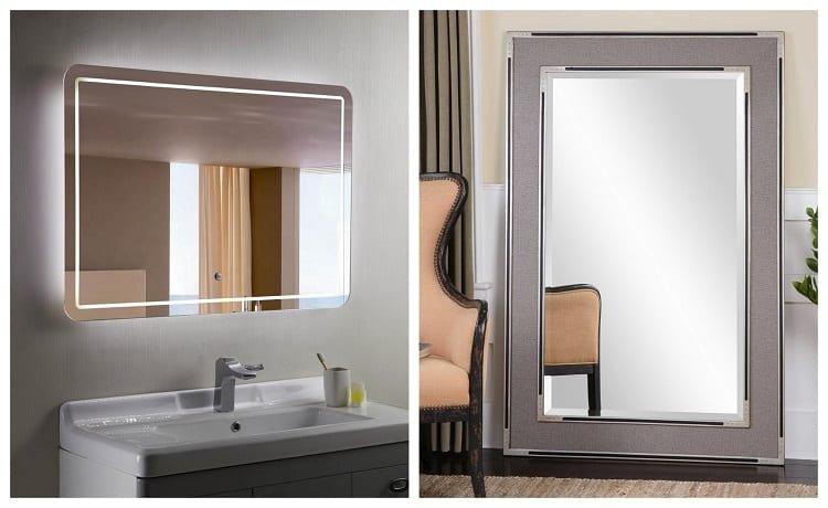 Bathroom Mirror Vs Regular Is, Types Of Bathroom Mirrors